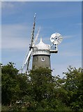 TF7632 : Bircham Windmill by James T M Towill