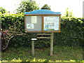 TL8984 : Kilverstone, Brettenham Village Notice Board by Adrian Cable