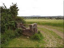 S7627 : A water trough on Lacken Hill by Hywel Williams
