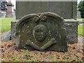 NS4673 : Skull-and-crossbones gravestone by Lairich Rig