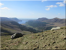 NY1612 : Ennerdale from the shoulder of White Pike by Matthew Hatton