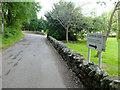NS3698 : The road outside the Rowardennan Hotel by John Allan
