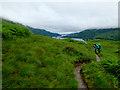NN3216 : The West Highland Way at Cnap Mor by John Allan