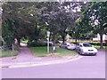 SZ0694 : Wallisdown: footpath U17 from Canford Road by Chris Downer