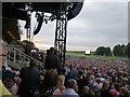 TL6161 : Waiting for The Kaiser Chiefs - Newmarket racecourse - 2016 by Richard Humphrey