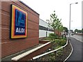 SJ8445 : Newcastle-under-Lyme: Aldi by Jonathan Hutchins