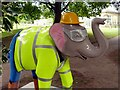 SK3386 : Herd of Sheffield: Henry the Constructor by Graham Hogg