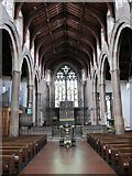 NZ2364 : The Church of St. Matthew, Big Lamp, Summerhill Street, NE4 - nave by Mike Quinn