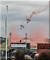 SU8553 : Red Devil's Parachute Team, Farnborough Air Show 2016 by Christine Matthews