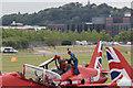 SU8553 : Red Arrows at Farnborough Air Show 2016 by Christine Matthews