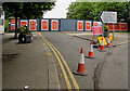 ST3088 : Blocked-off Bridge Street, Newport by Jaggery