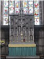 NZ2364 : The Church of St. Matthew, Big Lamp, Summerhill Street, NE4 - reredos by Mike Quinn