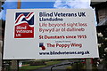 SH7981 : Signage at Blind Veterans UK, Craig-y-Don by Richard Hoare