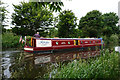SK4643 : Canal boat Rioja on the Erewash Canal by Ian S