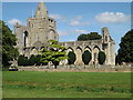 TF2410 : Crowland Abbey, Crowland by Adrian Cable
