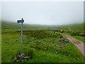 NN1264 : West Highland Way at Lairigmor by John Allan