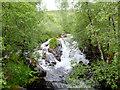 NN1068 : Waterfall on the Allt Coire a' Mhuilinn by John Allan