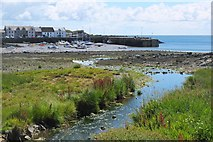 NX4736 : Isle of Whithorn harbour by Jim Barton