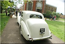 TQ1773 : View of a 1951 Bentley Mark 6 parked up for a wedding at Orleans House #3 by Robert Lamb