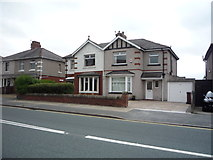 SD8632 : Houses on Brunshaw Road by JThomas