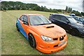TQ5583 : View of a Subaru Impreza WRX in Havering Mind's Wings and Wheels event at Damyns Hall Aerodrome #2 by Robert Lamb