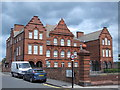 NZ2364 : Westgate Hill School, Westgate Road / Bishops Avenue, NE4 by Mike Quinn