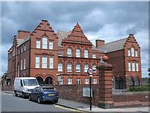 NZ2364 : Westgate Hill School, Westgate Road / Bishops Avenue, NE4 by Mike Quinn