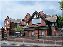 NZ2364 : Westgate Hill School and Lodge, Westgate Road, NE4 by Mike Quinn