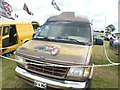 TQ5583 : View of a Ford Transit Mark 5 van in Havering Mind's Wings and Wheels event at Damyns Hall Aerodrome by Robert Lamb