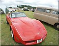 TQ5583 : View of a Chevrolet Corvette in Havering Mind's Wings and Wheels event at Damyns Hall Aerodrome #3 by Robert Lamb