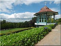 TQ3473 : The Bandstand at Horniman Gardens by Marathon