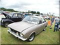 TQ5583 : View of a Ford Cortina Mark II in Havering Mind's Wings and Wheels event in Damyns Hall Aerodrome by Robert Lamb