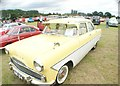 TQ5583 : View of a Ford Zephyr Zodiac in Havering Mind's Wings and Wheels event at Damyns Hall Aerodrome #2 by Robert Lamb