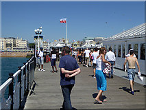 TQ3103 : On Palace Pier, Brighton by Robin Webster