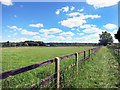 SU3766 : Public Footpath at Kintbury Farm by Des Blenkinsopp