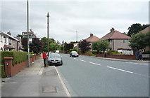 SD8632 : Elizabeth II postbox on Brunshaw Road. Burnley by JThomas