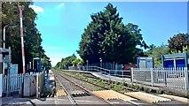 SK6443 : Burton Joyce station by Chris Morgan