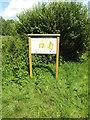 TM0178 : Thelnetham Fen sign by Geographer