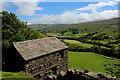 SD9098 : Stone Barn beside Doctor Wood by Chris Heaton
