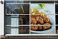SP2965 : Glazing to side of supermarket off Emscote Road, Warwick by Robin Stott