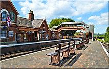 SO7975 : Bewdley station, Severn Valley Railway by Philip Pankhurst