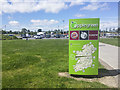 O1855 : Sign, Applegreen services, Lusk by Rossographer