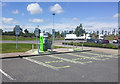 O1855 : E-Car charge points, Applegreen services, Lusk by Rossographer