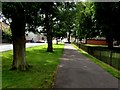 H4573 : Pathway along Mountjoy Road, Omagh by Kenneth  Allen