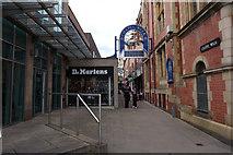 SK3587 : Chapel Walk off Norfolk Street, Sheffield by Ian S