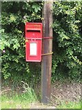NZ1883 : Post box in Tranwell by Graham Robson