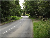 TM0080 : Entering Norfolk on B1111 Common Road by Adrian Cable