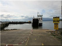 NS2059 : Ferry to Great Cumbrae Island, Largs by Euan Nelson