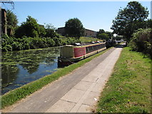TQ2182 : Stargazer, of Devizes, narrowboat on Paddington Branch canal by David Hawgood