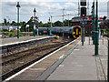 SJ4912 : Arrival at Shrewsbury by John Lucas